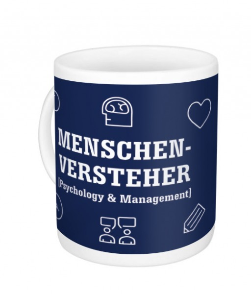 "Kaffeetasse ""Psychology & Management"""